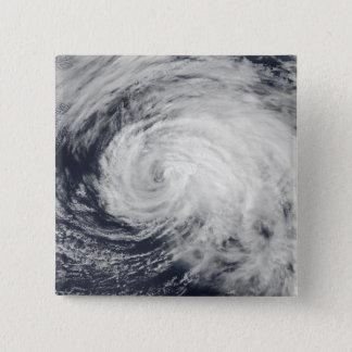 Badge Carré 5 Cm Tempête tropicale Ele dans le Pacifique central