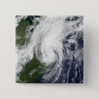 Badge Carré 5 Cm Tempête tropicale Hanna au-dessus de la Côte Est 2