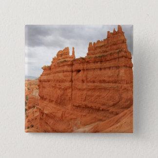 Badge Carré 5 Cm Thor's_Hammer_Bryce_Canyon_Utah, Etats-Unis