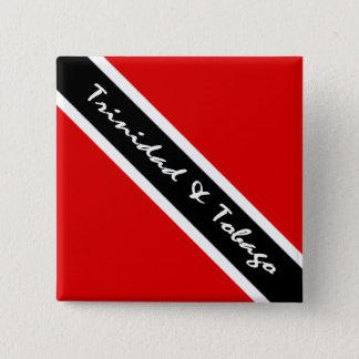 Badge Carré 5 Cm Tnt dans le bouton de style
