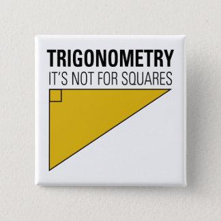 Badge Carré 5 Cm Trigonométrie