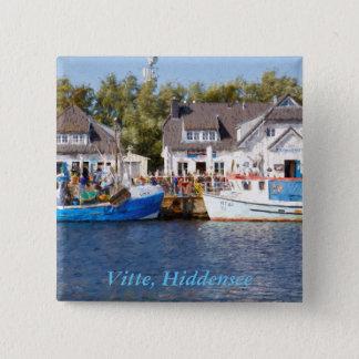 Badge Carré 5 Cm Vitte, Hiddensee