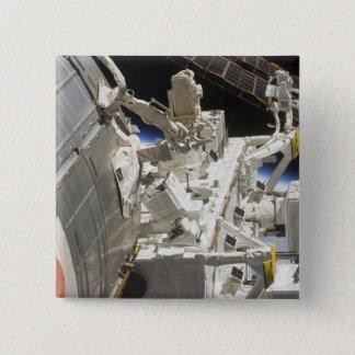 Badge Carré 5 Cm Vue en gros plan des composants