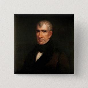 Badge Carré 5 Cm William Henry Harrison