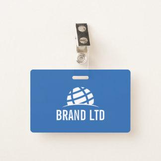 Badge Créez votre propre logo de société commerciale
