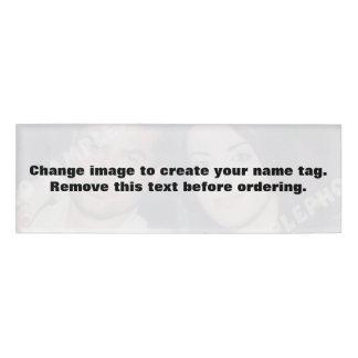 Badge D'identification Étiquette personnalisée de nom de photo. Faites
