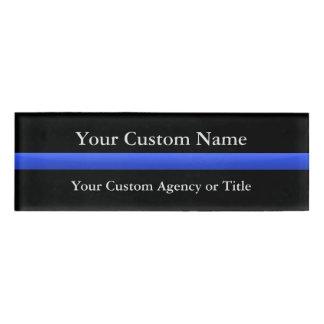 Badge D'identification Gradient mince de Blue Line