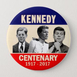 Badge Rond 10 Cm Anniversaire de JFK 100th