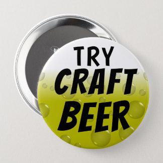 Badge Rond 10 Cm Bière de métier d'essai