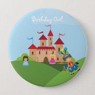 Badge Rond 10 Cm Bouton d'anniversaire personnalisé par chevalier