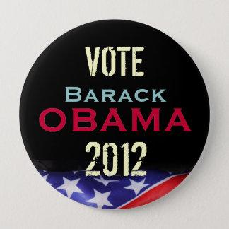 Badge Rond 10 Cm Bouton de campagne d'OBAMA 2012 de vote