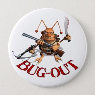 Badge Rond 10 Cm Cancrelat d'Insecte-