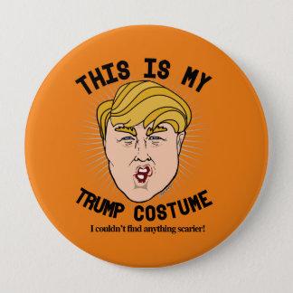 Badge Rond 10 Cm C'est mon costume de Donald Trump - je ne pourrais