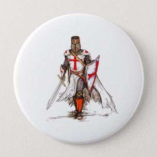 Badge Rond 10 Cm Chevalier de Templar