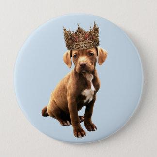 Badge Rond 10 Cm chien royal #1