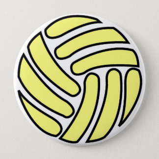 Badge Rond 10 Cm Contour de ballon de football -