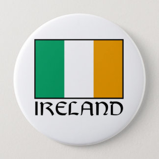 Badge Rond 10 Cm Itinéraire irlandais de phare de bouton de partie