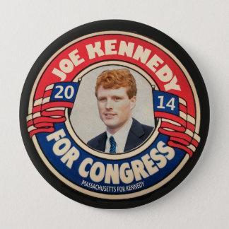 Badge Rond 10 Cm Joe Kennedy pour le congrès 2014