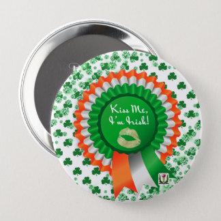 Badge Rond 10 Cm Le bouton 53086A de St Patrick du plaisir de