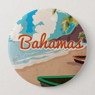 Badge Rond 10 Cm Les Bahamas