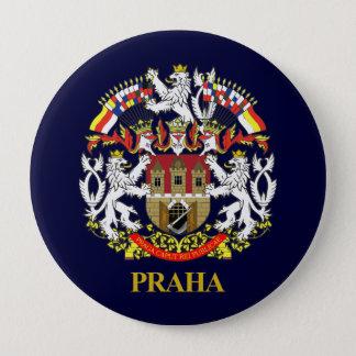 Badge Rond 10 Cm Praha (Prague)