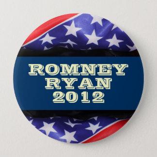 Badge Rond 10 Cm Romney/Ryan 2012 boutons ronds de Compaign