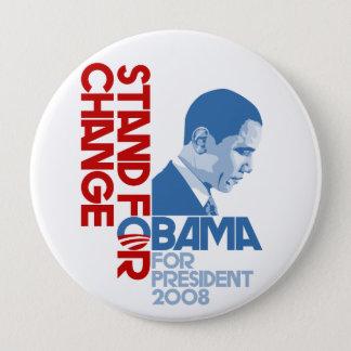 Badge Rond 10 Cm Support pour le changement