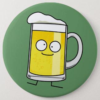 Badge Rond 15,2 Cm Alcool heureux bu par mousse heureuse de stein de