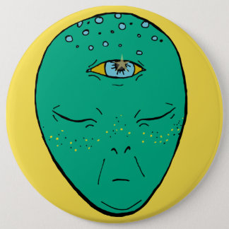 Badge Rond 15,2 Cm Alien, chakra