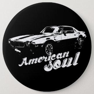 Badge Rond 15,2 Cm American soul