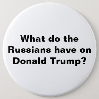 Badge Rond 15,2 Cm Atout et bouton de la Russie