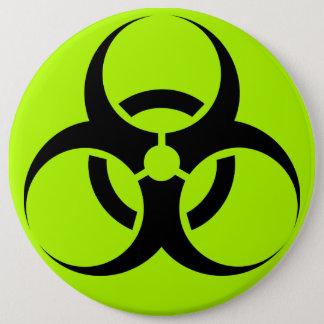 Badge Rond 15,2 Cm Biohazard