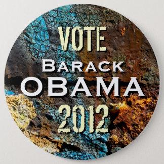 Badge Rond 15,2 Cm Bouton de campagne de géant de mod Obama 2012