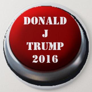 Badge Rond 15,2 Cm Bouton de Donald Trump