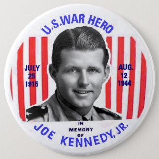 Badge Rond 15,2 Cm Bouton de mémorial de Jr. de Joe Kennedy
