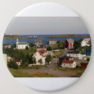 Badge Rond 15,2 Cm Bouton de Terre-Neuve