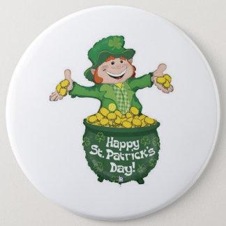 Badge Rond 15,2 Cm Bouton du jour de St Patrick