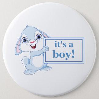 Badge Rond 15,2 Cm C'est un garçon