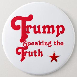 Badge Rond 15,2 Cm Donald Trump