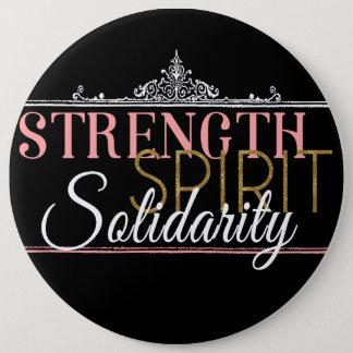Badge Rond 15,2 Cm Force, esprit, solidarité