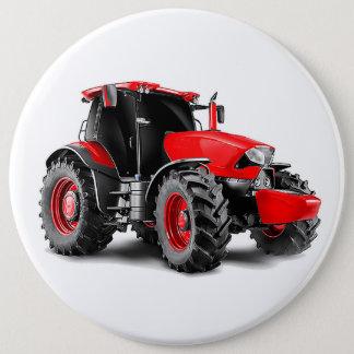 Badge Rond 15,2 Cm Image de tracteur pour le Colossal-Rond-Insigne