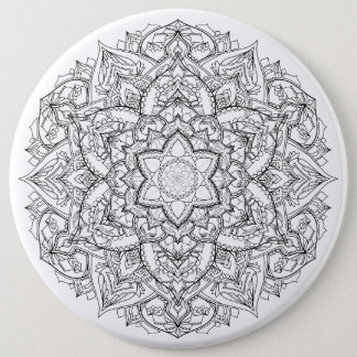 Badge Rond 15,2 Cm Insigne de mandala