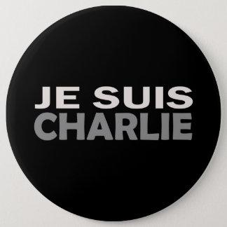 Badge Rond 15,2 Cm Je Suis Charlie