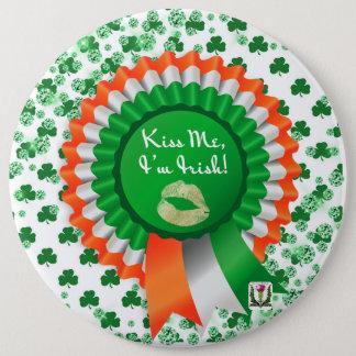 Badge Rond 15,2 Cm Le bouton 53086 de St Patrick du plaisir de