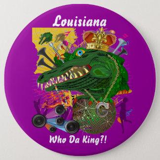 Badge Rond 15,2 Cm L'événement de carnaval de mardi gras regardent