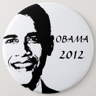 Badge Rond 15,2 Cm Obama pour 2012
