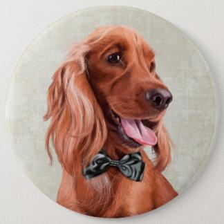 Badge Rond 15,2 Cm Portrait anglais de cocker