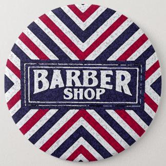 Badge Rond 15,2 Cm Raseur-coiffeur
