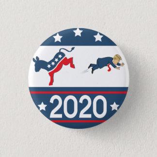 Badge Rond 2,50 Cm 2020 Démocrate