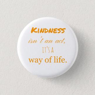 Badge Rond 2,50 Cm Actes d'insigne de gentillesse